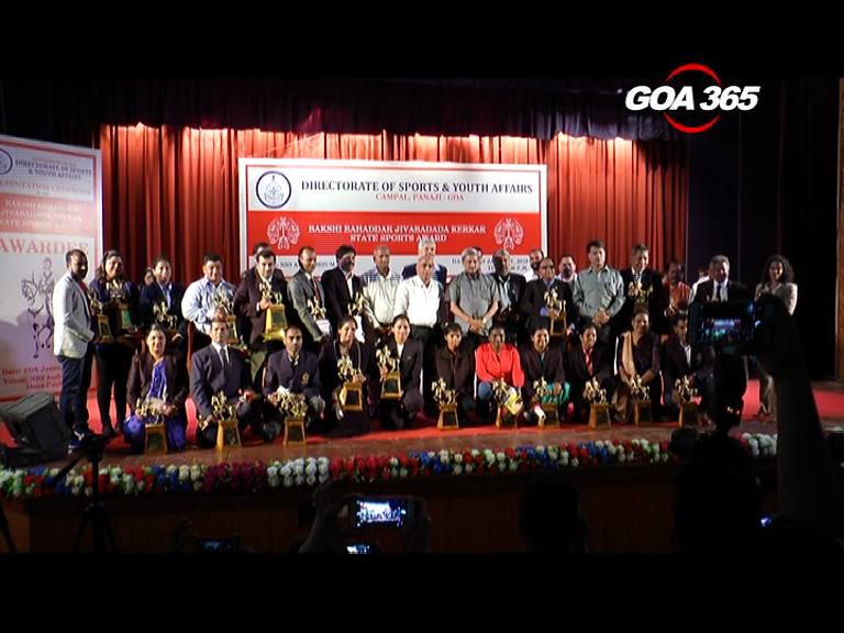 30 Sports personnel awarded Kerkar State Sports Awards