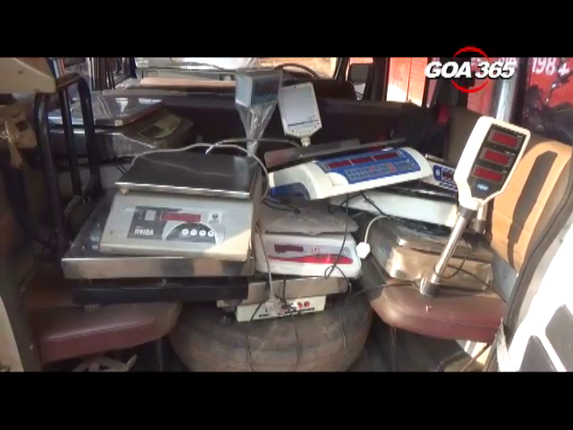 6 fake weighing machines seized in Vasco