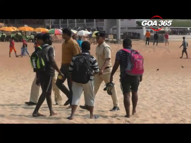 8 Juveniles rescued by Calangute Police