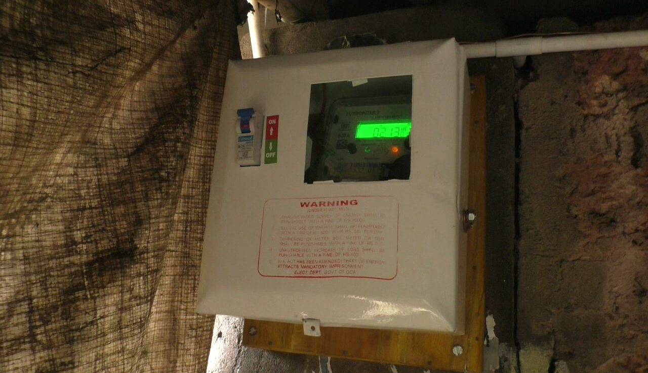 A family in Naveli gets electricity connection after 30 years