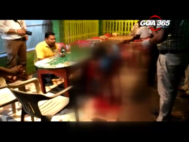 A mechanic shoots a mason dead in Navelim bar