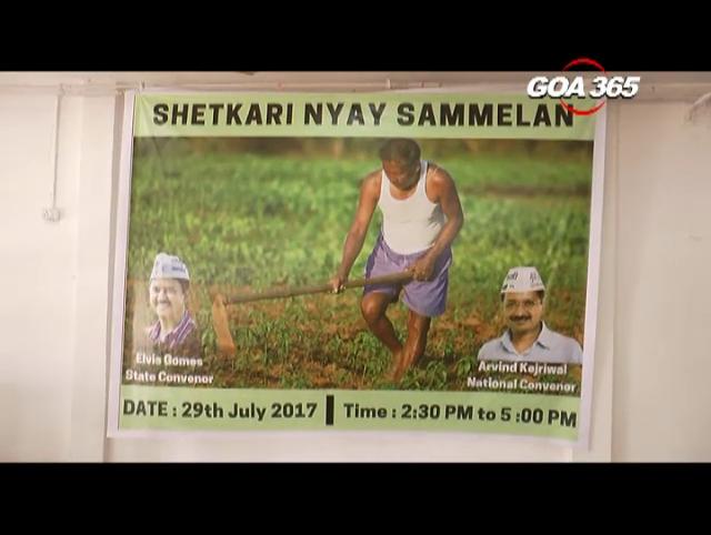 AAP organizes a Shetkari Nyay Sammellan
