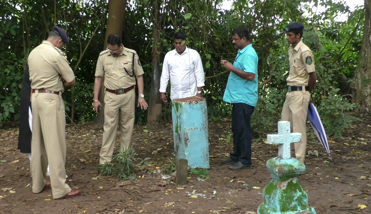 Another cross found damaged in Chimbel, police probe on
