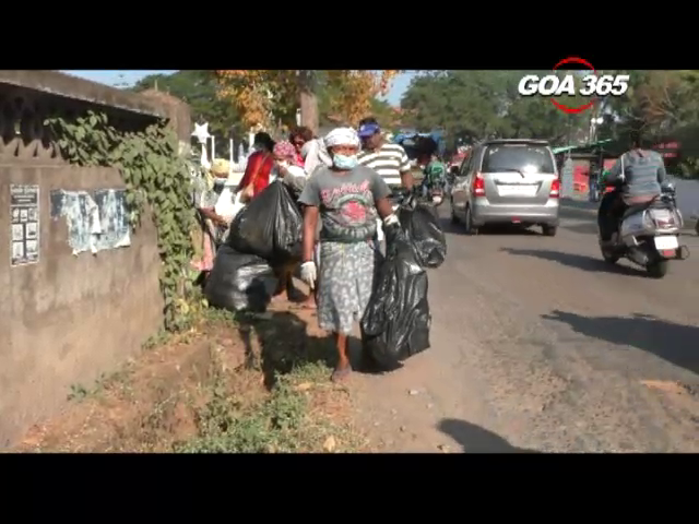 Assolna parish youth organizes cleanliness drive