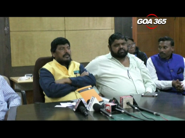 Athawale wants hostels for ST/SC students in Panaji