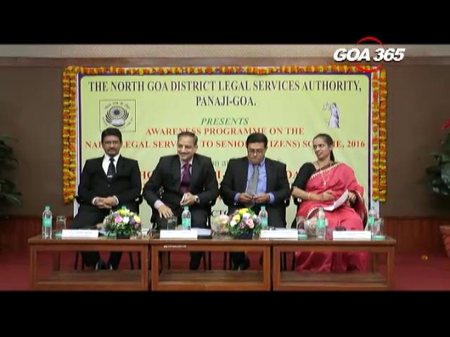 Awareness program held on legal services to senior citizens