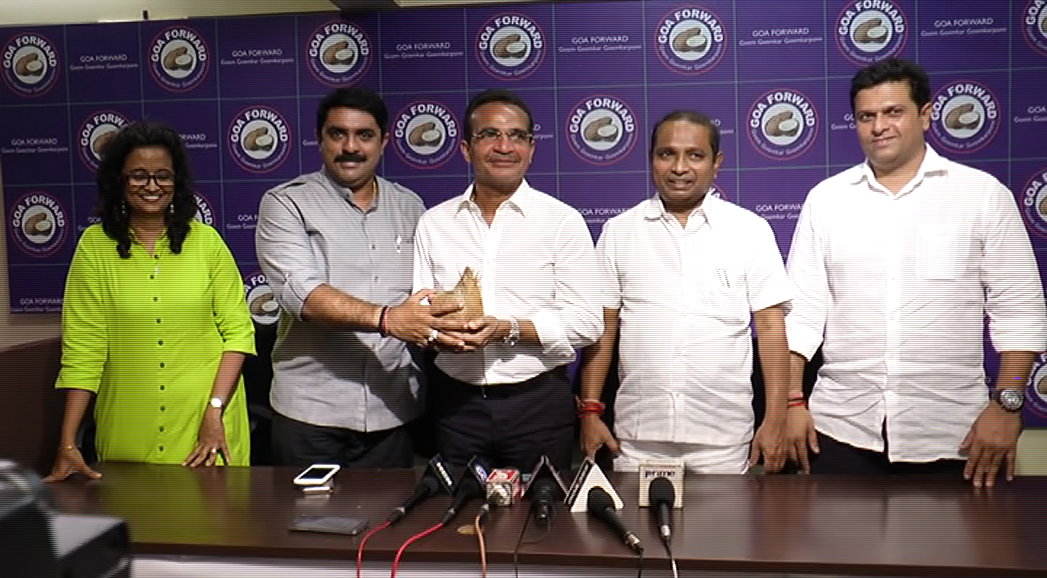 Babush joins Goa Forward, to support Parrikar in Panaji