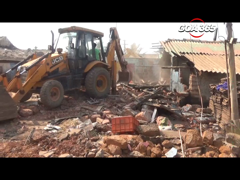 Baina Demolition Drive: 34 out of 121 structures down to rubble
