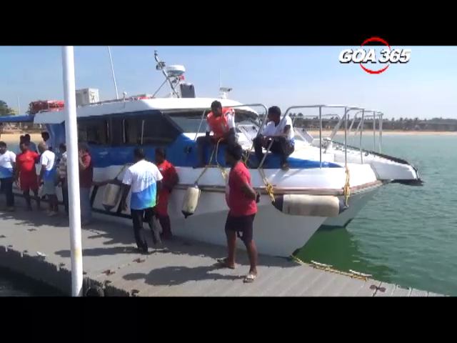 Baina-Panaji ferry to start from Fri