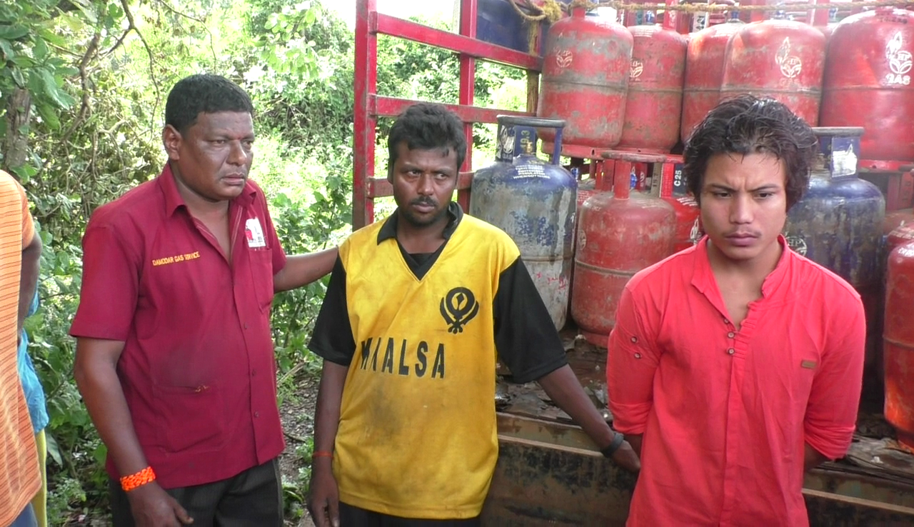 Benaulim locals catch LPG thieves