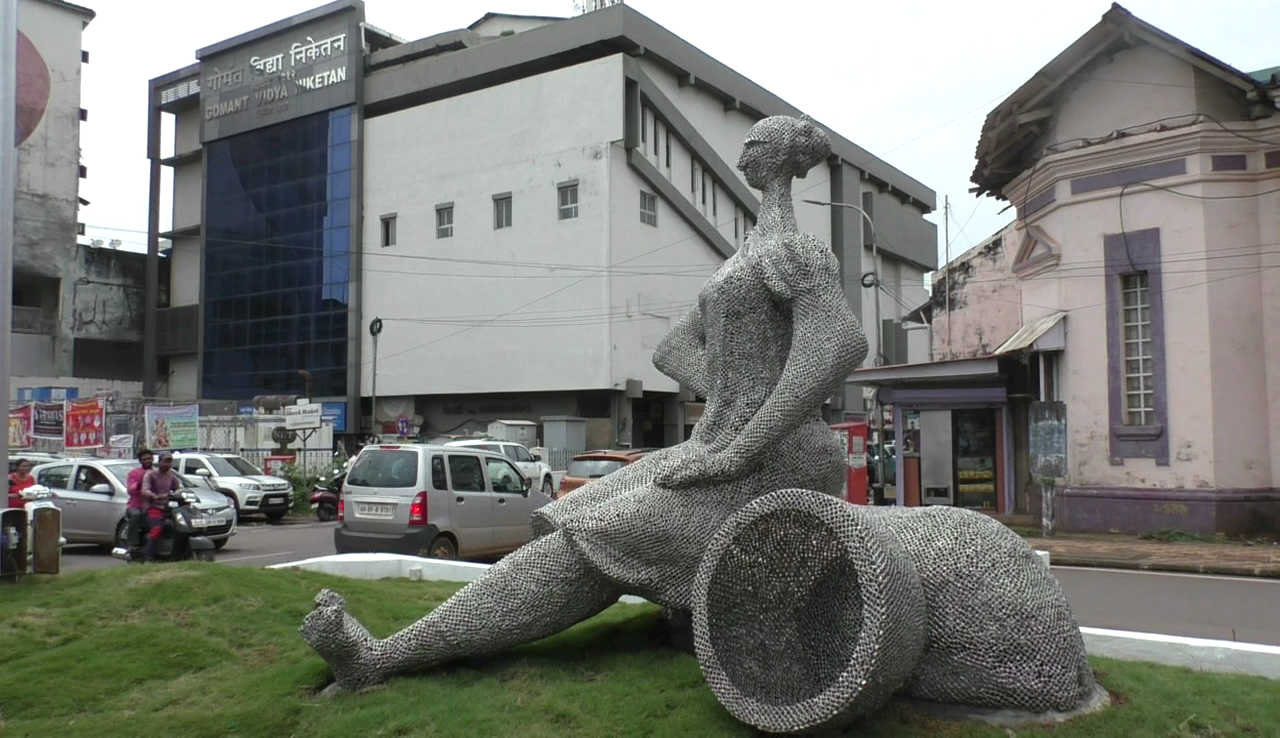 Bhadel, a sculpture of Honesty, brings glory to cultural Madgao