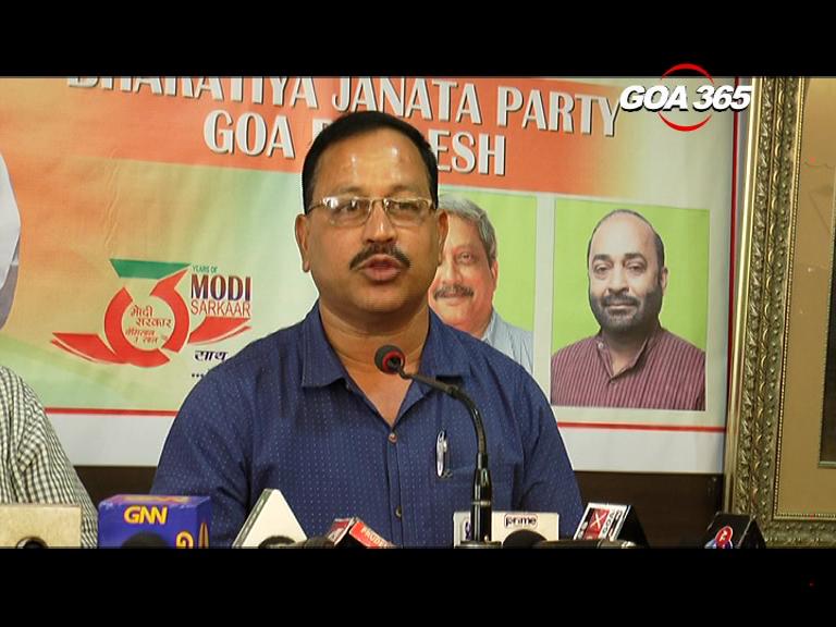 BJP' ex-MLA threatens stir against his Govt over Salaulim water