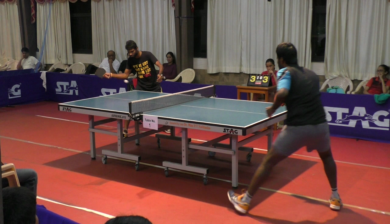 BPS Table tennis finals held in Madgao.