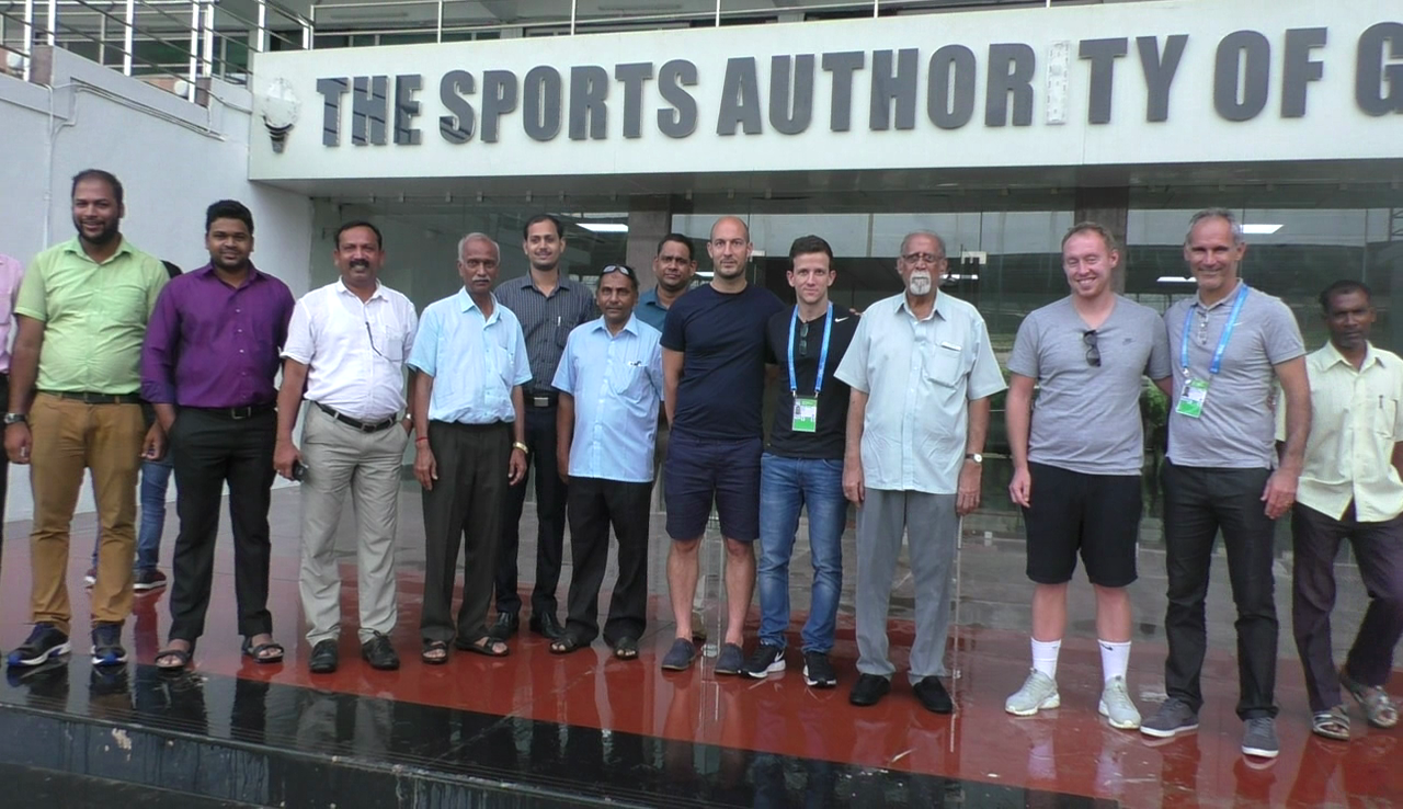 Brazilian and English FIFA delegations visit Goa