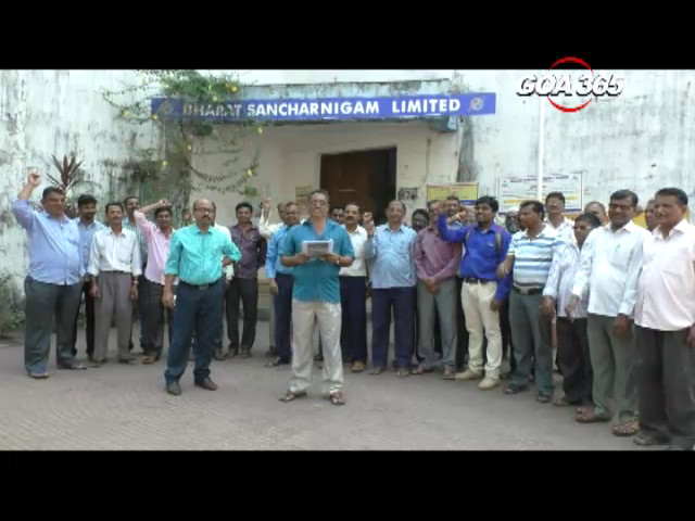 BSNL workers on2 day strike, demand pay revision