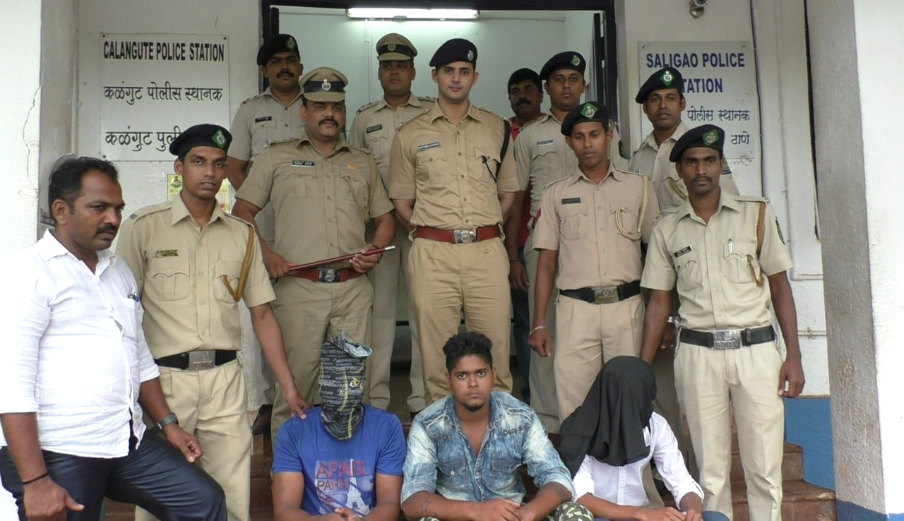 Calangute police nab 3 murder accused in 3 days