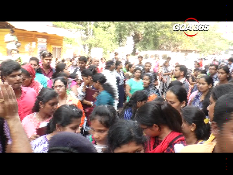 Chaos outside collectorate
