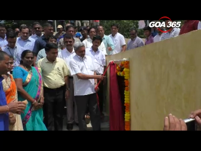 CM Parrikar inaugurates beautification works at Pale