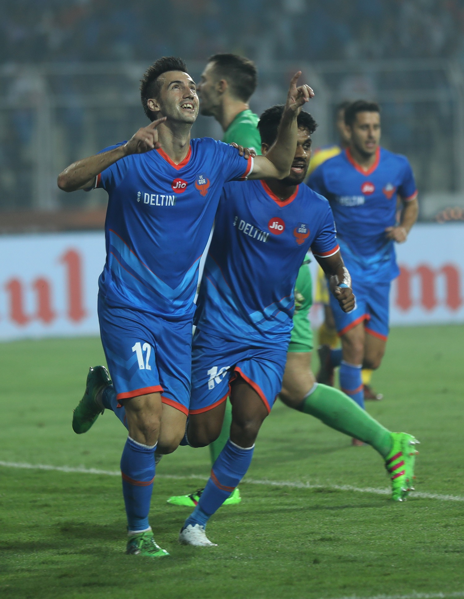 Coro creates history in ISL, scores 2nd hat-trick as FCGOA humbles blaster 5-2