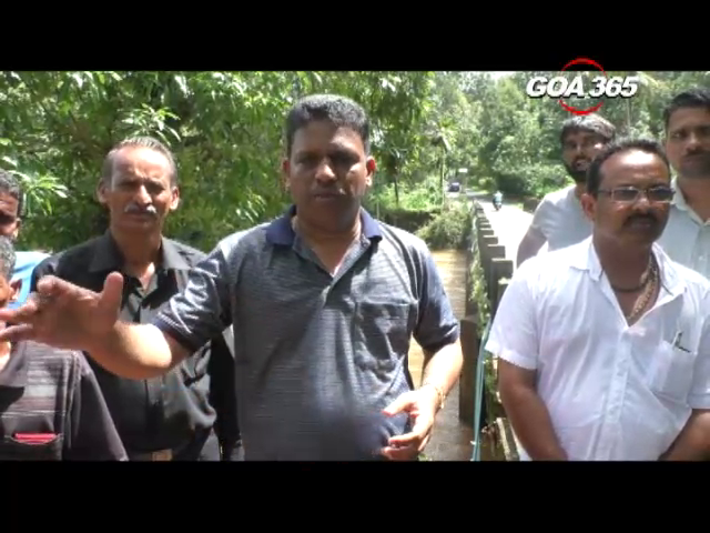 Cuncolim MLA Clafacio assures to solve the Paroda flood issue