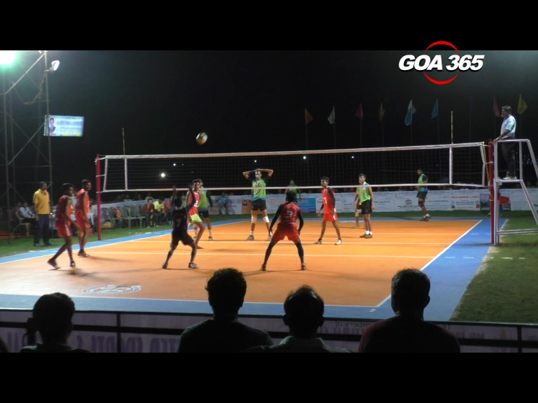 Cuncolim Volleyball tournament kickstarts