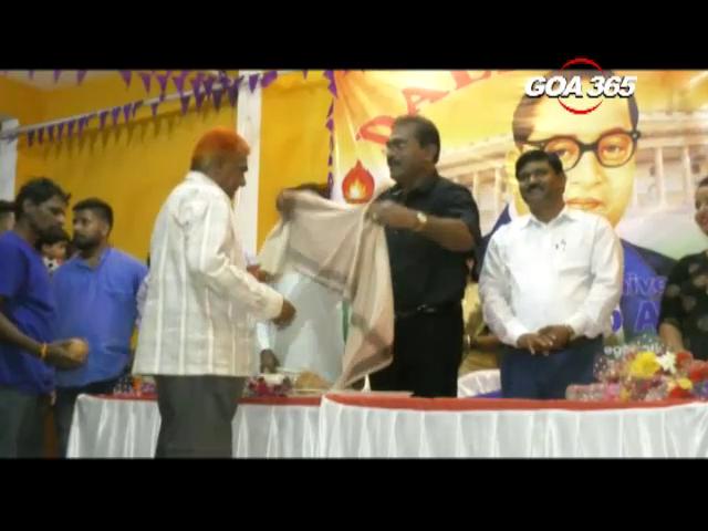 Dalit Sena celebrates Dr Ambedkar's birthday
