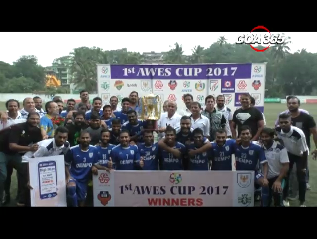 Dempo SC lift the AWES Cup, defeat Gokulam FC in penalty shootout