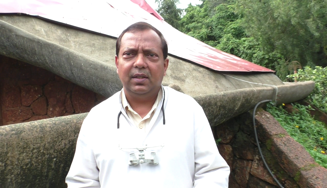 Doctor from Bandora sets up a role model for rainwater harvesting