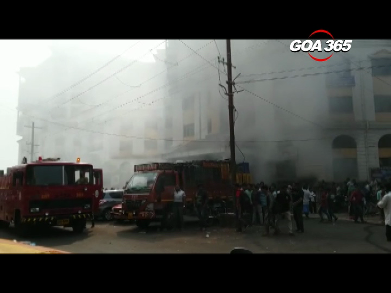 Electric shopped in gutted in Mapusa fire