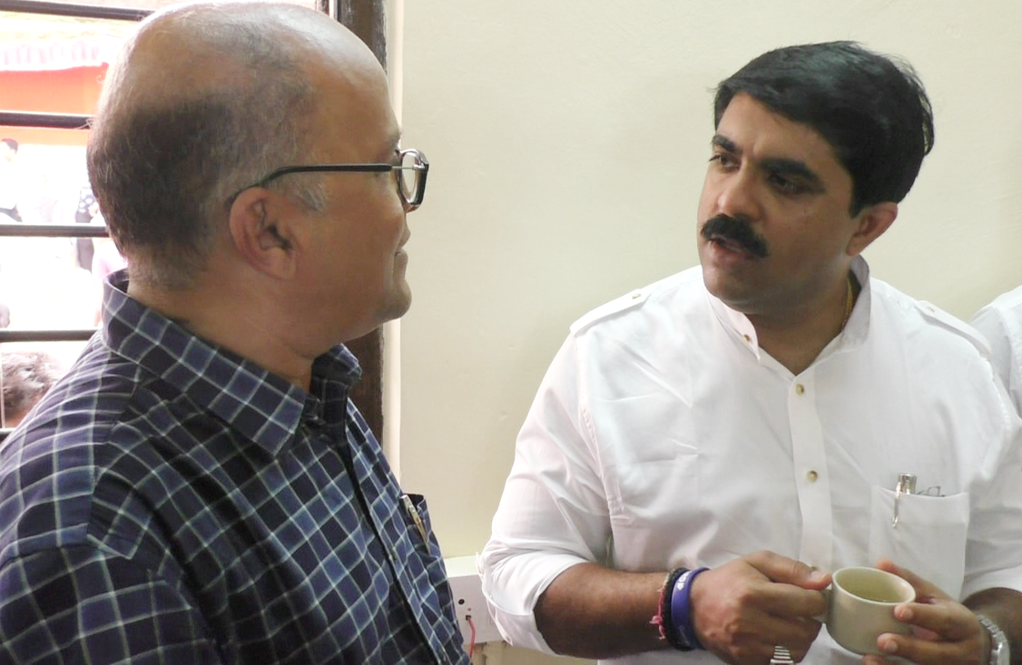 Fatorda Police station inaugurated, Aires files first complaint against Vijai