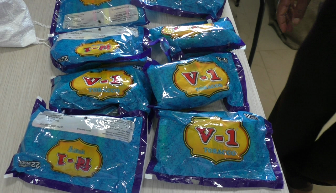 FDA seizes tobacco worth 30 lakh rupees