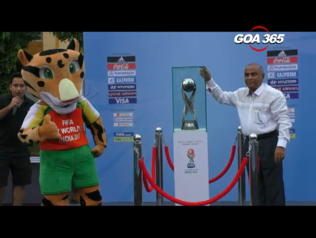 FIFA U17 India Trophy unveiled
