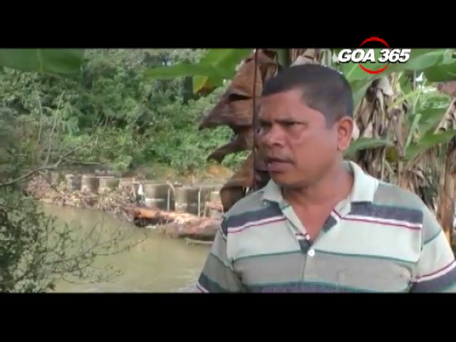 Flood like situation in Cancona, due to negligence of WRD contractors