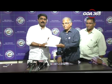 Former Fatorda MLA Vijai Sardesai officially joined Goa-Forward