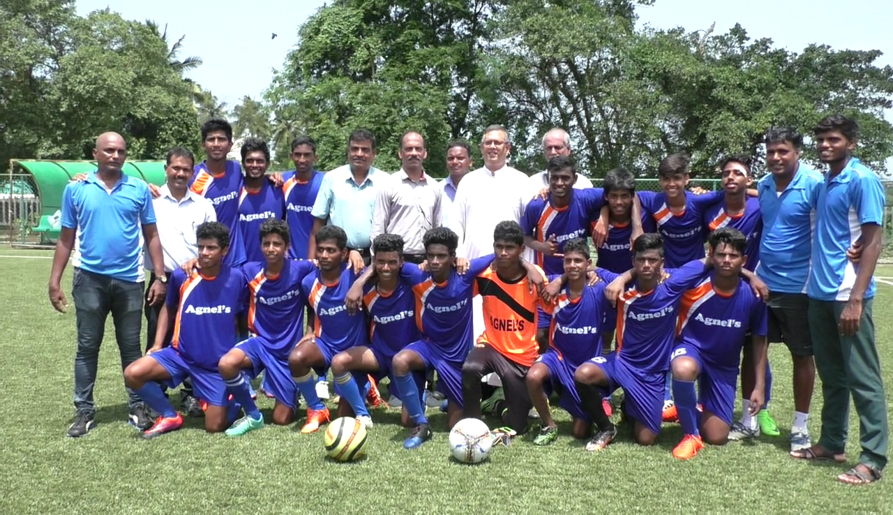 Fr. Agnel HHS wins the U17 Subroto Cup Taluka level