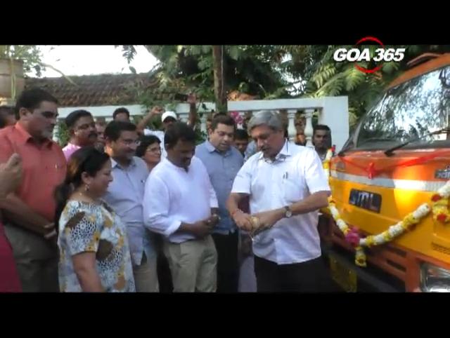 Gera donates two garbage trucks