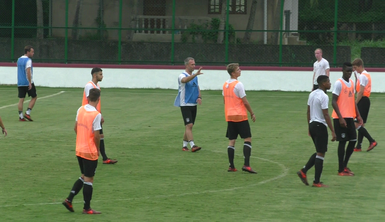 Germany practices at Urtorda, GOA on for FIFA U17