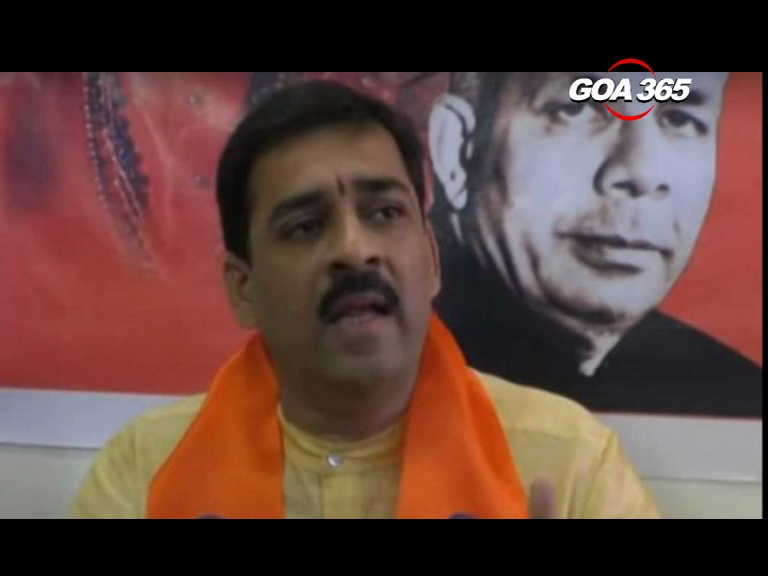 Goa Shiv Sena Chief expelled for anti-party activities