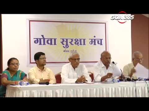 Goa Suraksha Manch announces 3 candidates for Assembly Elections