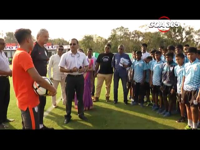 Goa to get world class football Academy; Srinivas Dempo