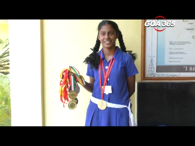 Goan girl bags 2 martial arts golds in Nepal competition