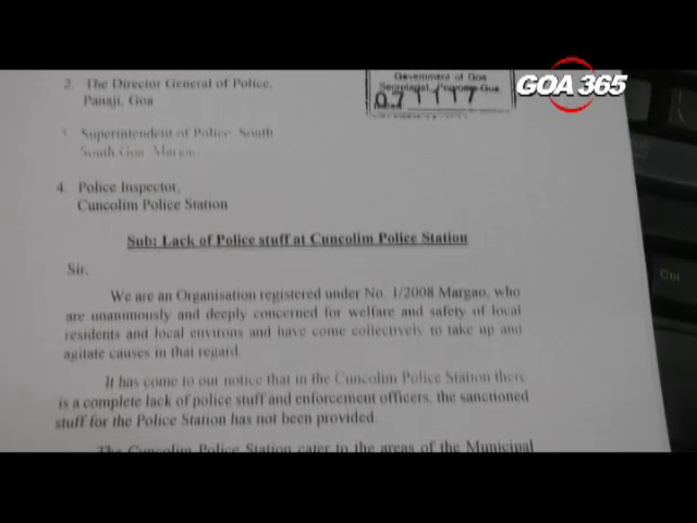 Green Goa files PIL for increasing Cuncolim police station staff