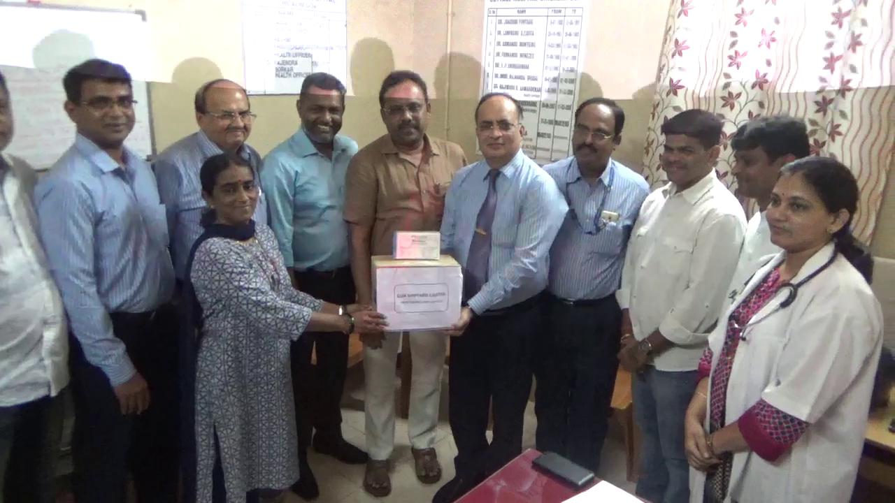GSL gives out 100 dengue testing kits