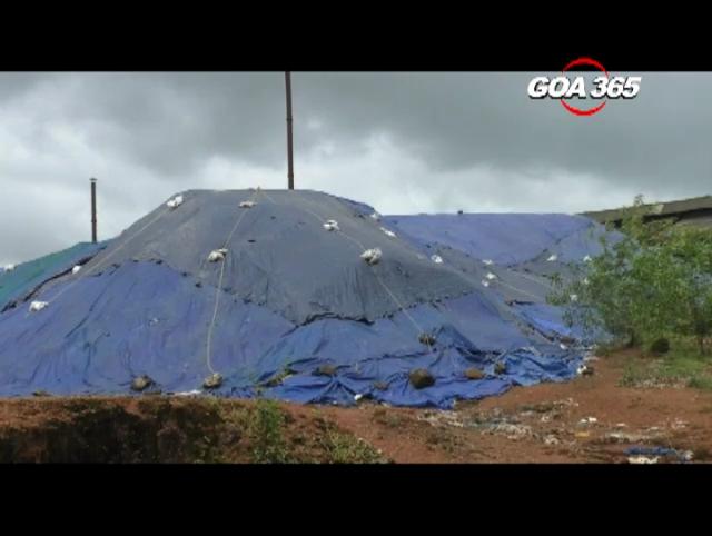 Hazardous waste in Cucolim Industrial Estate polluting water bodies