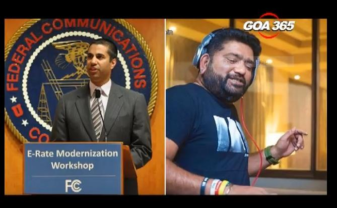 His name is Ajit Pai and he is our Goan DJ, not Trump's man