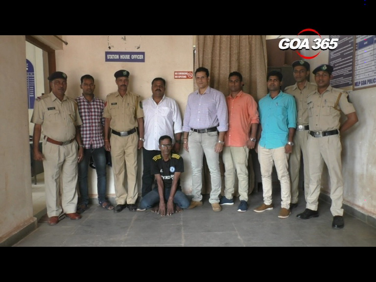 History-sheeter arrested at Madgao Rly Station
