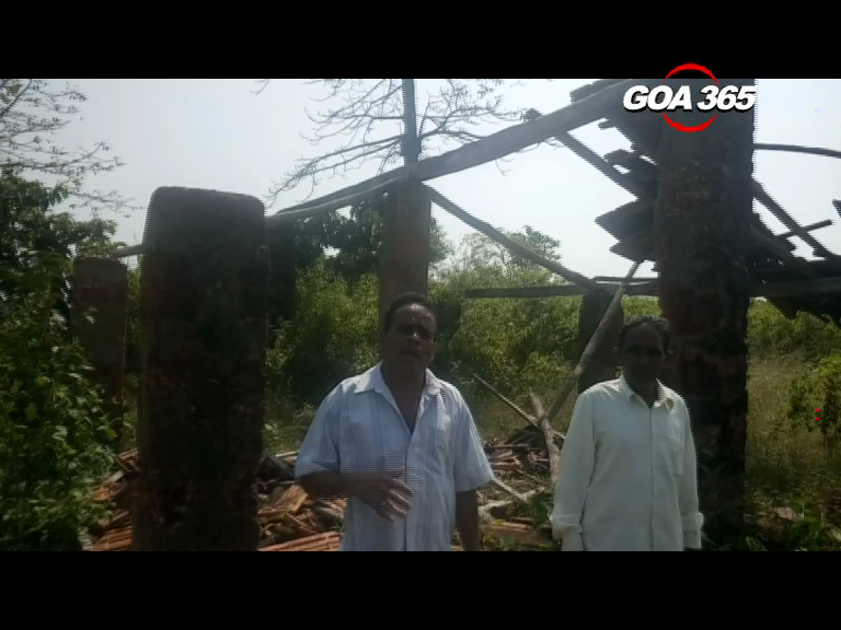 Houses of Mopa residents demolished illegally, allege locals
