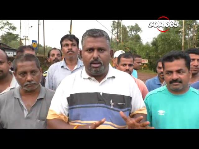 If Sesa Goa forcefully starts, we will stop the mining transport: Bicholim Truckers
