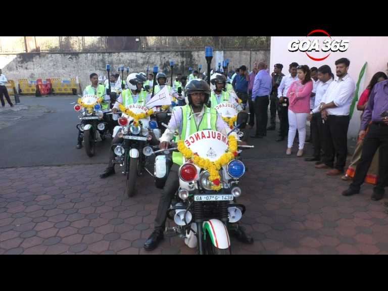 India's first two-wheeler ambulance at your service