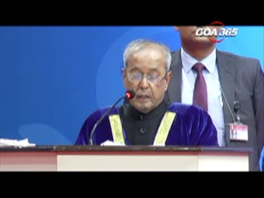 Institutes should produce men of substance, just not  competence: Pranab